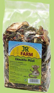 JR FARM Chinchilla-Schmaus 1.2 kg