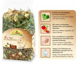 JR Farm Food Zwergkaninchen Adult 1.5 kg