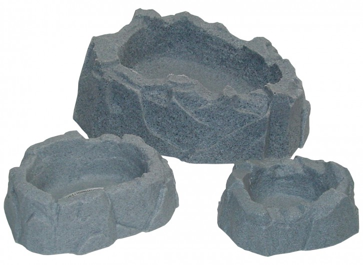 Wasserbecken Granit mini 8 x 6 x 2 cm.