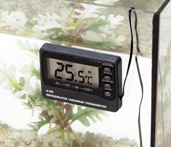 Digital-Thermometer+Alarm 1xAAA/AM4 1.5V mit 3m Kabel